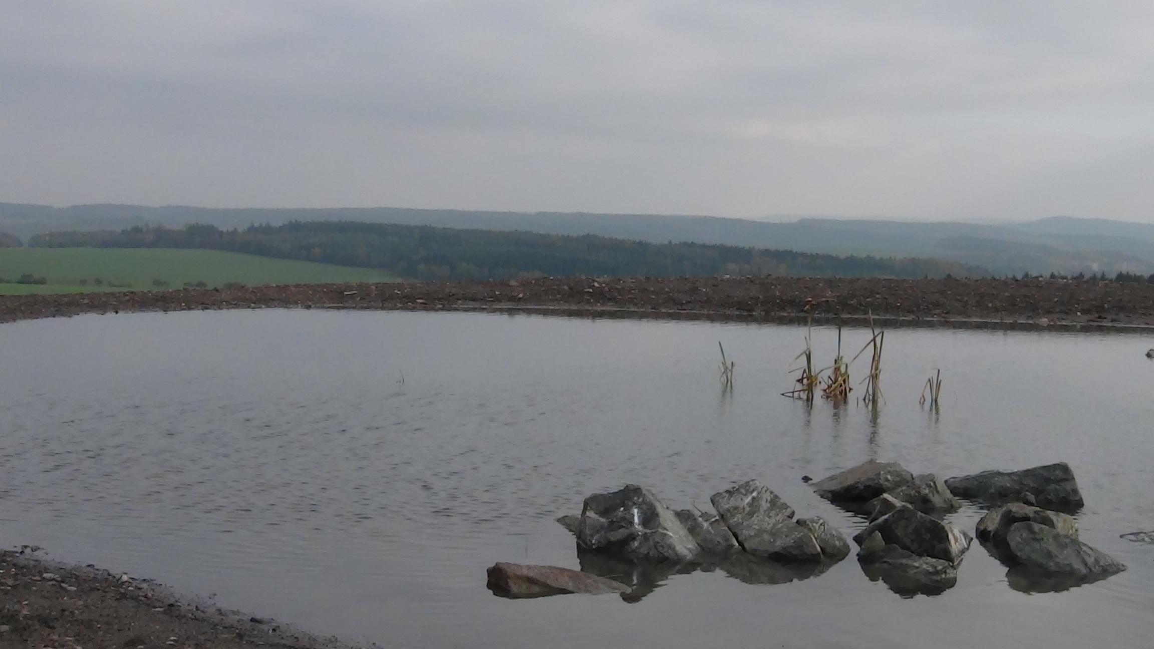 Pohled z odvalu Tuchlovice